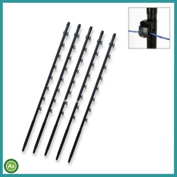 タイガー 電気柵 ガイシ付支柱 FRP125