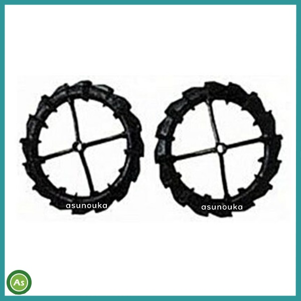 ゴムラグ車輪