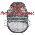 着用画像のメイン-ドッグインナーダウンベスト用-Innerdownvest