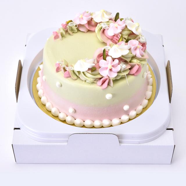 デコレーションケーキ商品画像(新ピスタチオ)