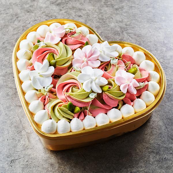 【誕生日・記念日】フルールピスタチオ -ショートケーキ-