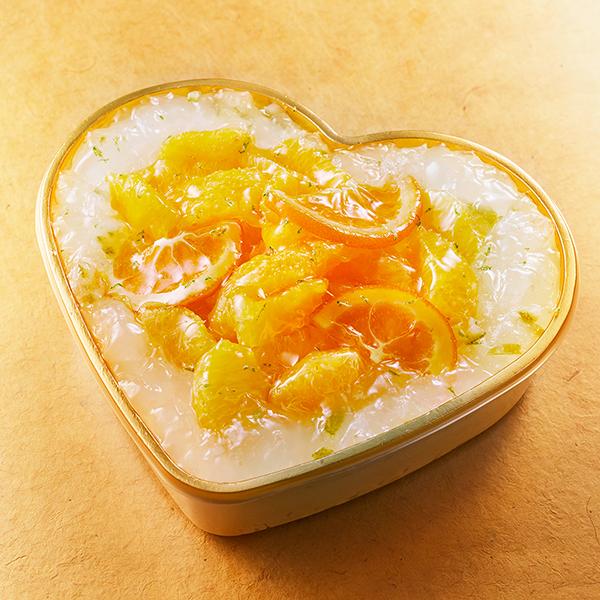 【誕生日・記念日】小笠原レモンとオレンジのショートケーキ