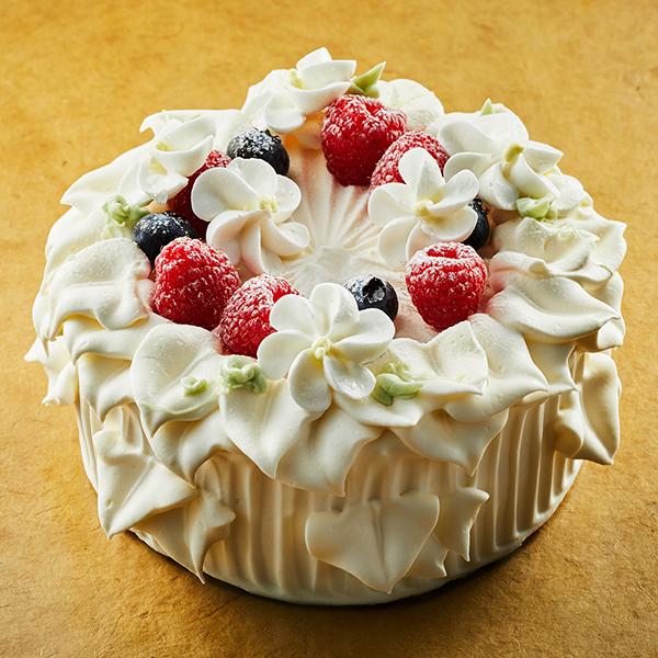 【誕生日・記念日】グレースホワイト -ショートケーキ-
