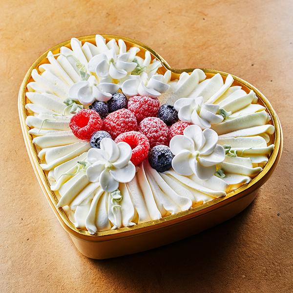 【誕生日・記念日】ホワイトグレース -ショートケーキ-