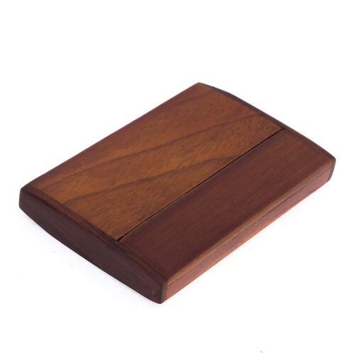 森の紙 ローズウッド 名刺 スタンド 名刺入れ デスクトップ 名刺箱 収納 プチギフト プレゼント 木製品 デスク整理 整理整頓