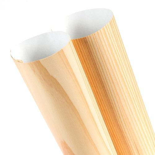 森の紙 曲がる 極薄 壁紙 天然木のシート 杉 柾目 板目 粘着シールタイプ 600×1800mm DIY 化粧材 切文字