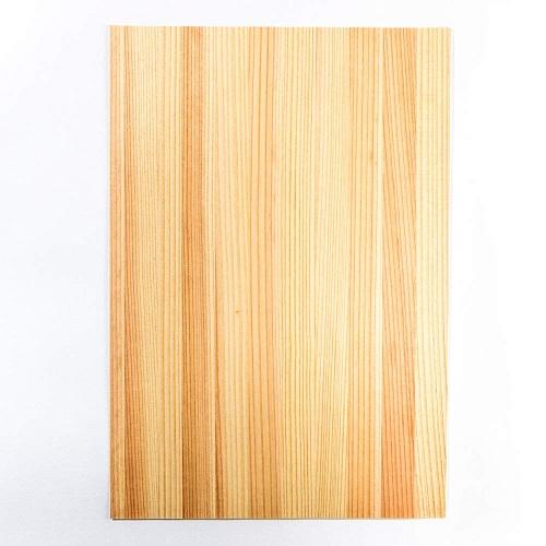 森の紙 極薄 天然木の紙 杉 葉書サイズ 100枚入り インクジェットプリンター印刷 メール便