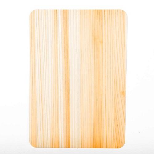 mori no kami 森の紙 極薄 天然木 マウスパッド 杉 ひのき ウォルナット 幅182mm×長さ128mm メール便