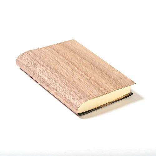 mori no kami 森の紙 極薄 天然木 ブックカバー杉 ひのき ウォ-ルナット 幅325mm×長さ165mm メール便