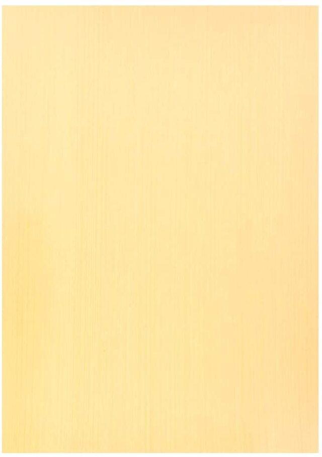森の紙 極薄 天然木の紙 バーチホワイト 葉書サイズ 5枚入り インクジェットプリンター印刷 メール便
