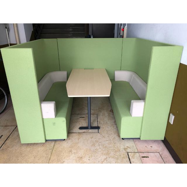 コクヨ ブラケッツ ユニット型ソファー&テーブルシステム MT-034
