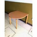 プラス 半楕円テーブル MT-024