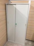 トヨスチール スチ−ル引戸書庫 S-048