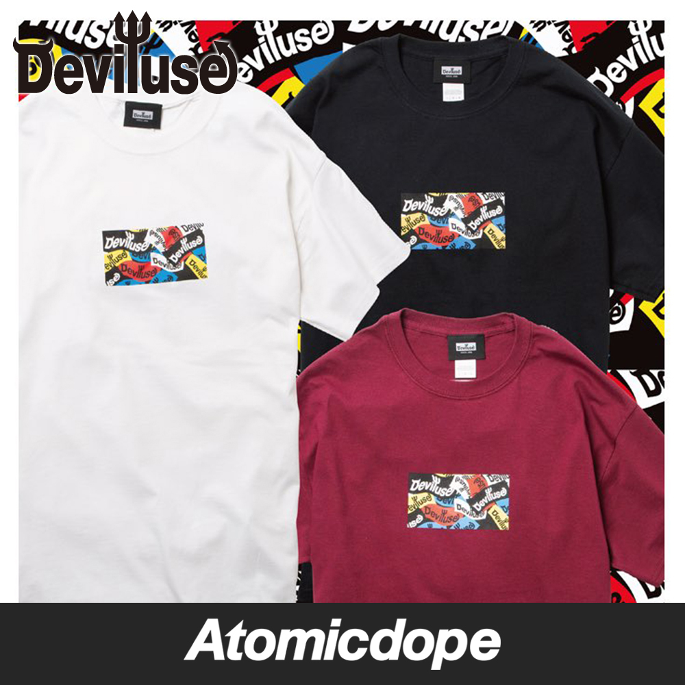 Deviluse Logo All Color Tシャツ 半袖 T-shirts デビルユース