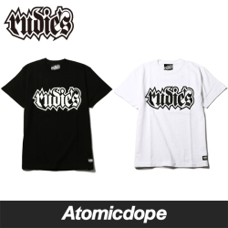 RUDIE'S SPARK Tシャツ 黒 白 半袖 Tee Black White ルーディーズ