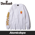 Deviluse Fries ロンT 長袖 白 L/S T-shirts White デビルユース