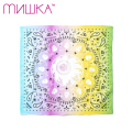 MISHKA RAINBOW KEEP WATCH バンダナ 黒 総柄 BANDANA Black ミシカ