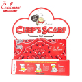 COOKMAN シェフ 3WAY スカーフ ペイズリー レッド Chef's Scarf Paisley Red クックマン