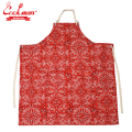 COOKMAN ロングエプロン ペイズリー レッド Long Apron Paisely Red クックマン ユニセックス