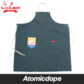 COOKMAN ロングエプロン ヒッコリー Long Apron Hickory クックマン