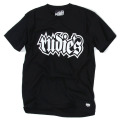 【RUDIE'S】 Tシャツ 黒/白 SPARK-Tee Black/White ルーディーズ