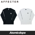 【AFFECTER】STAND UP ロンT ロングスリーブ Tシャツ 長袖 黒 白 L/S Tee Black White アフェクター