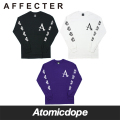 【AFFECTER】BEFORE ロンT ロングスリーブ Tシャツ 長袖 L/S Tee アフェクター