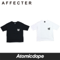 AFFECTER CHECKER BIG Tシャツ 半袖 黒 白 S/S TEE Black White アフェクター