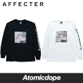 AFFECTER MONO THE WALL ロンT ロングスリーブ Tシャツ 長袖 黒 白 L/S Tee Black White アフェクター