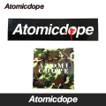 Atomicdope Mini Sticker ステッカー シール Antisocial Box logo Camo Circle logo アトミックドープ