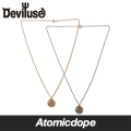 Deviluse ネックレス 金 銀 Coin Neckless Gold Silver デビルユース