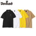 Deviluse Heartaches ポロシャツ 半袖 Polo Shirts デビルユース