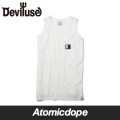 【Deviluse】Dual nature タンクトップ 白 Tank Top White デビルユース