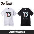 Deviluse Crazy Peppers Tシャツ 黒 白 T-Shirts Black White デビルユース
