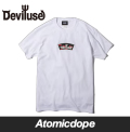Deviluse Logo&Cherry Tシャツ 白 T-Shirts White デビルユース