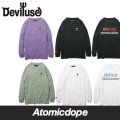 Deviluse Heartache ロンT ロングスリーブ Tシャツ 長袖 L/S T-shirts デビルユース