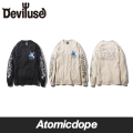 【Deviluse】Peace ロンT 長袖 Long Sleeve T-shirts デビルユース