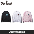 【Deviluse】Infinite Possibility ロンT 長袖 L/S T-shirts デビルユース
