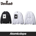 【Deviluse】Under The God Pocke ロンT 長袖 ポケット付き L/S T-shirts デビルユース