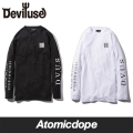 【Deviluse】Sold My Soul ロンT 長袖 L/S T-shirts デビルユース