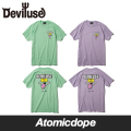 Deviluse Pink Sheep Catcher Tシャツ 半袖 緑 紫 T-Shirts Mint Green Lavender デビルユース