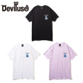 Deviluse Not Today Tシャツ 半袖 T-shirts デビルユース