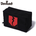 Deviluse Flame Heart ポーチ ブラック 黒 Pouch Black デビルユース