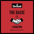 【店舗限定で販売中!】Deviluse THE BASIC UNION -Support your local store-