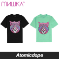 【MISHKA】GRATEFUL DEATH Tシャツ 半袖 黒 緑 TEE Black Seafoam ミシカ