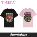 【MISHKA】LIVING DEATH ADDERS Tシャツ 半袖 黒 TEE Black ミシカ