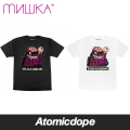 【MISHKA】MISHKA4LIFE Glow in the Dark Tシャツ 半袖 黒 白 TEE Black White ミシカ