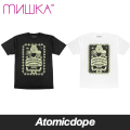 【送料無料】【MISHKA】Sara Martin: Mystifying Oracle Tシャツ 半袖 黒 白 TEE Black White ミシカ