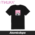 【送料無料】【MISHKA】LOCALS KEEP WATCH BOX LOGO Tシャツ 半袖 黒 TEE Black ミシカ