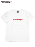 【Atomicdope】Tシャツ 白/赤 Logo Tee White/Red アトミックドープ